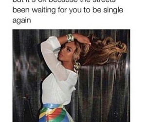 funny, beyoncé, and quote image