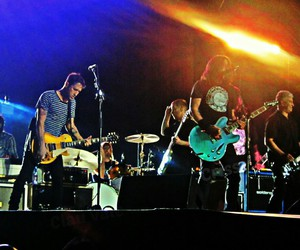 chile, dave grohl, and foo fighters image