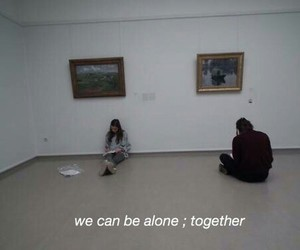 alone, art, and empty image
