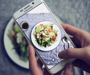 food, samsung, and photo image