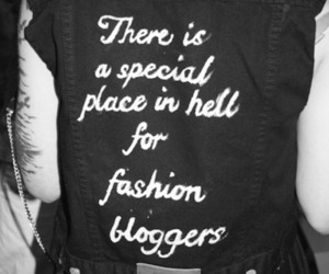 fashion, hell, and blogger image