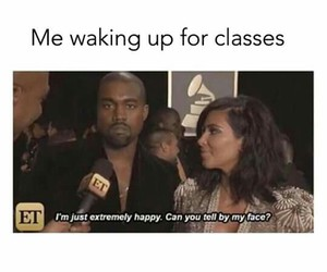 classes, funny, and school image
