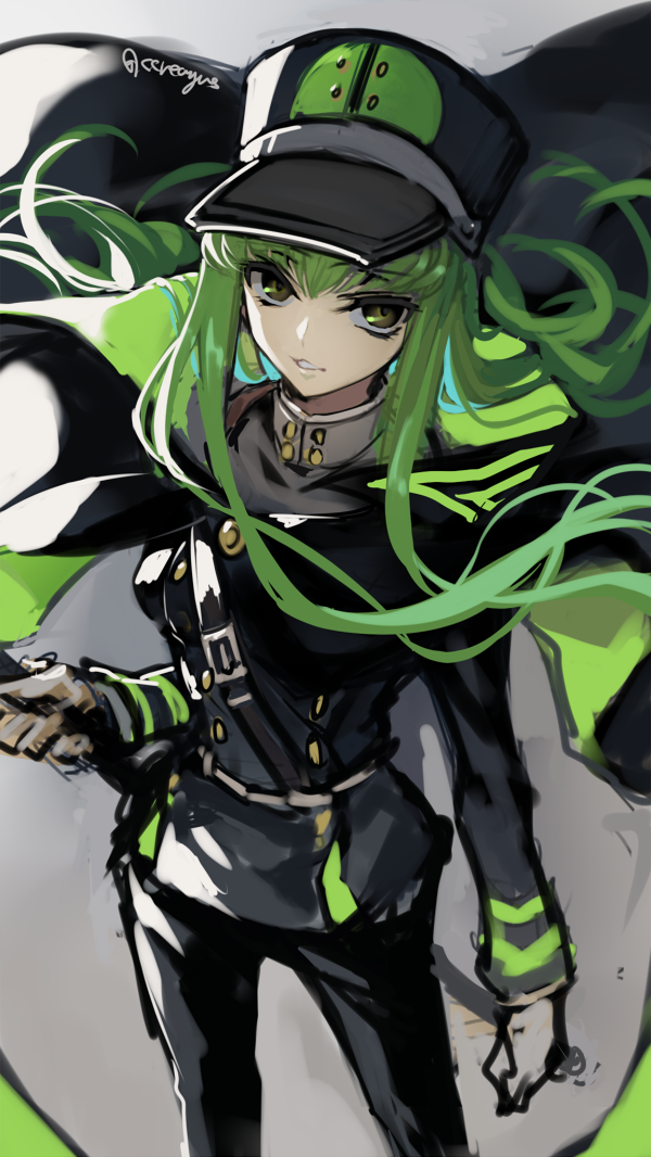 60 Images About Anime Green Hair On We Heart It See More About