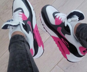crazy, girls, and nike air max 90 image