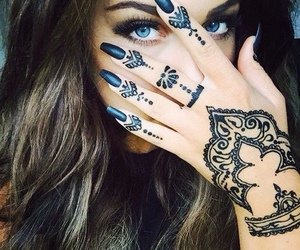 beauty, ink, and inked image