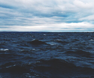 ocean, sea, and grunge image