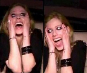 Avril Lavigne, funny, and lbs image