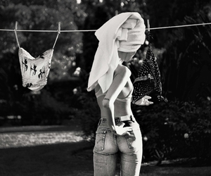 black and white, body, and photography image
