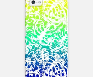 case, iphone, and leaves image