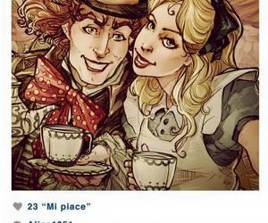 disney, alice, and instagram image