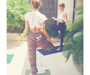 yoga, fit, and candice image