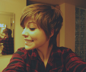 hair, pixie, and pixie cut image