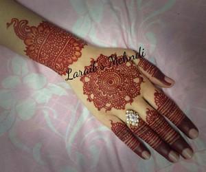 designs, henna, and mehndi image