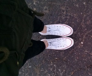 all stars, converse, and grunge image