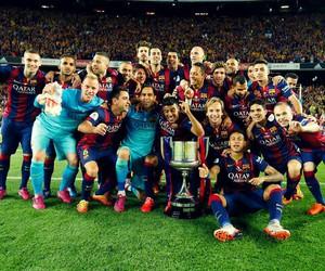 fc barcelona, champions, and copa del rey image