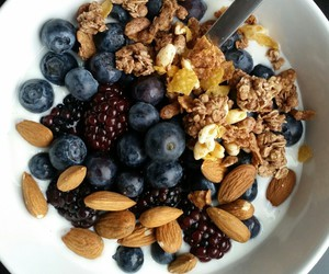 almond, blackberry, and blueberry image