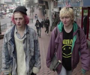 grunge, boy, and nirvana image