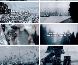 The Others, tumblr, and game of thrones image