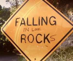 rock, love, and art image