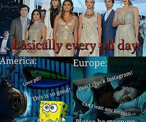 pretty little liars, america, and europe image