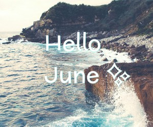 summer and hello june image