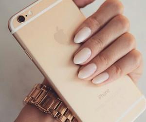 fashion, nails, and phone image