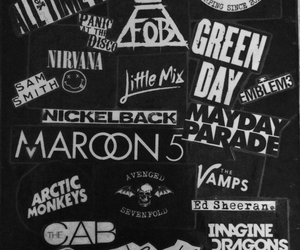 all time low, mayday parade, and artic monkeys image
