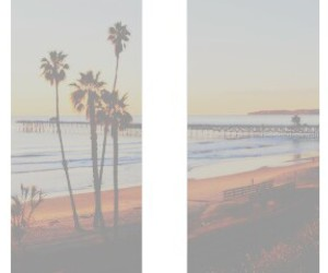 beach, pale, and header image