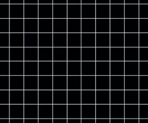 wallpaper, black, and grid image