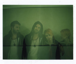 hayley williams, jeremy davis, and paramore image