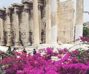 ancient greece, monument, and summer in greece image