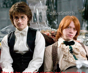 daniel radcliffe, girls, and goblet of fire image