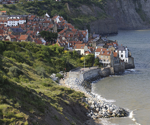 england, bay, and village image