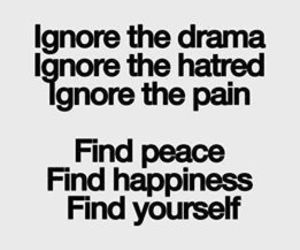 quote, pain, and peace image