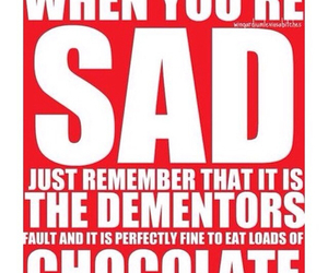 chocolate, harry potter, and quotes image
