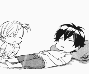 barakamon and manga image