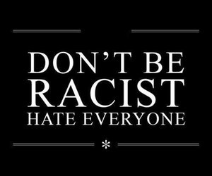 hate, racist, and quotes image