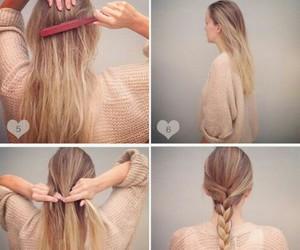 fashion, girly, and hair image