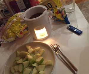 fondue, food, and hipster image