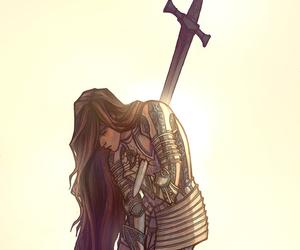 warrior and warrior princess image