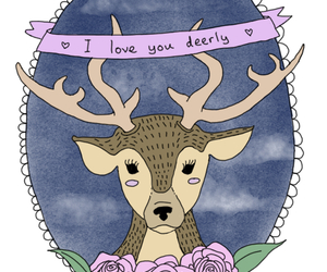 deer and love image