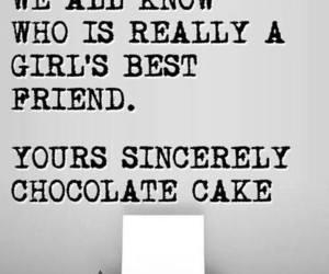 diamond, chocolate, and cake image