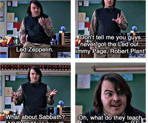 ac dc, Black Sabbath, and guitar image