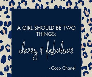 quotes, chanel, and classy image