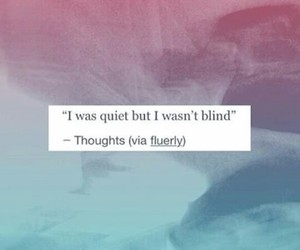 blind, quiet, and quite image