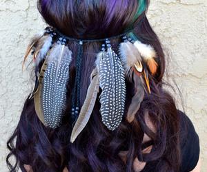 Burning Man, coachella, and feather image