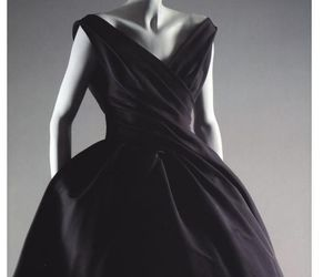 1957, black, and Christian Dior image