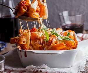 food, pasta, and italian image