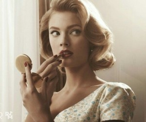 vintage, makeup, and beauty image