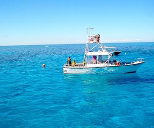 bahamas, beach, and boat image